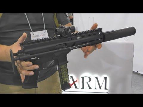 "Пистолет-Пулемет 9х19 ""ЦВИРКУН"" FLARM | FULL-AUTO SBR STRIBOG SR9 A3 9x19mm Luger"